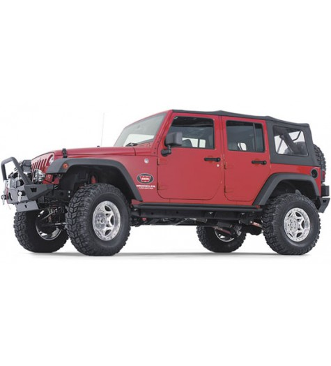 Jeep Wrangler Rock Sliders